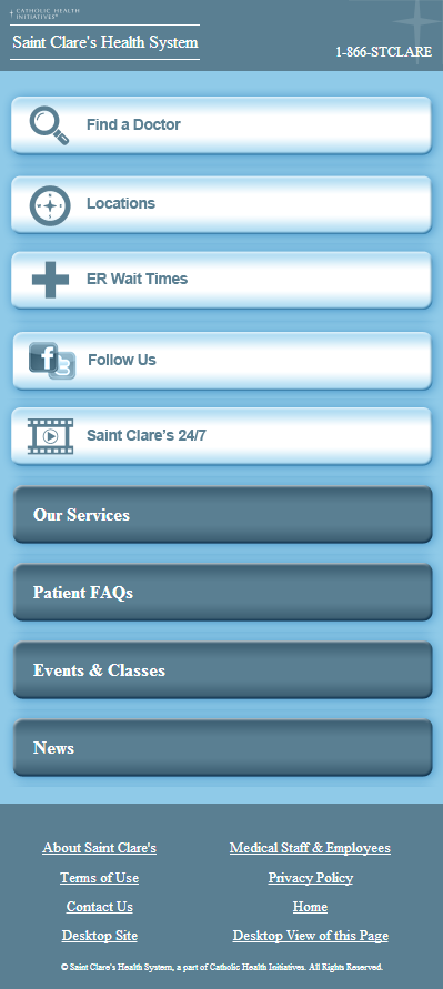 Saint Clare's Mobile