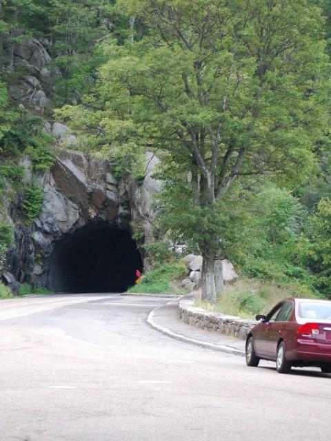 Skyline Drive Tunnel, Shenandoah Valley