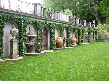 Italian Garden of Longwood Gardens