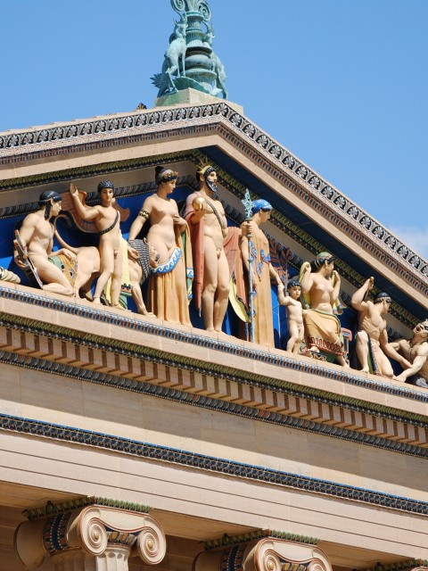 Greek Revival in Philadelphian Pediments