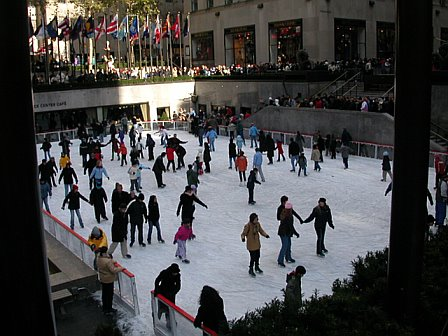 Ice Skating at 30 Rock