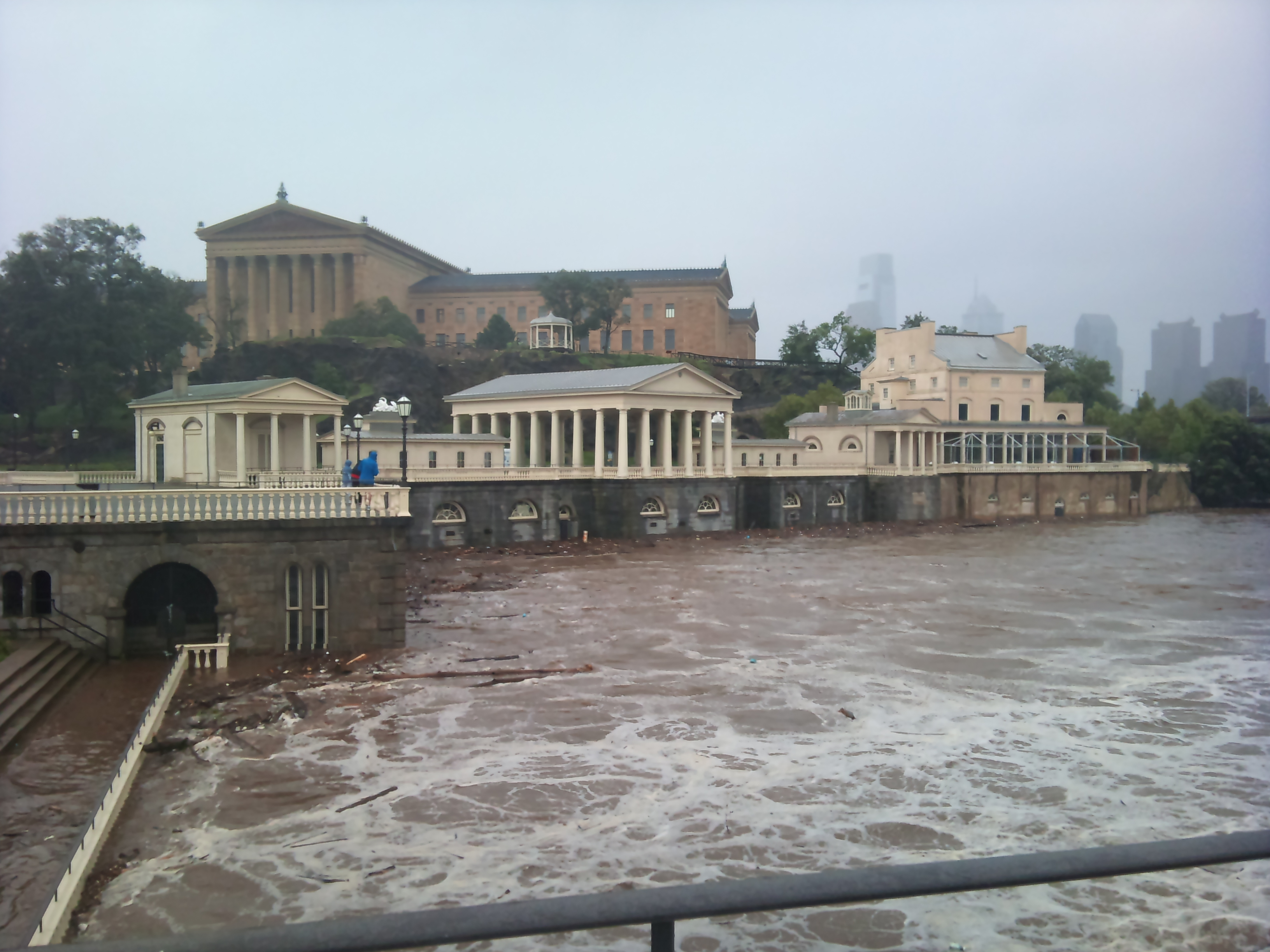 Rough Waters by the Philadelphia Waterworks