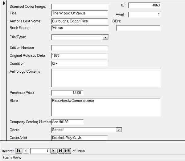 Paperback El Rex Custom Inventory Management Forms