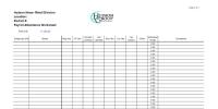 Hudson Group Corporate Branded Payroll Processing Worksheet