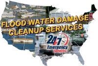 Floodwater Damage Cleanup Services Logo