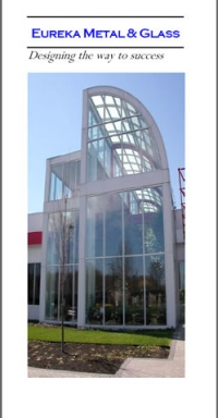Trifold Corporate Brochure - Eureka Metal & Glass
