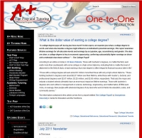A+ Test Prep & Tutoring News Blog (Wordpress)