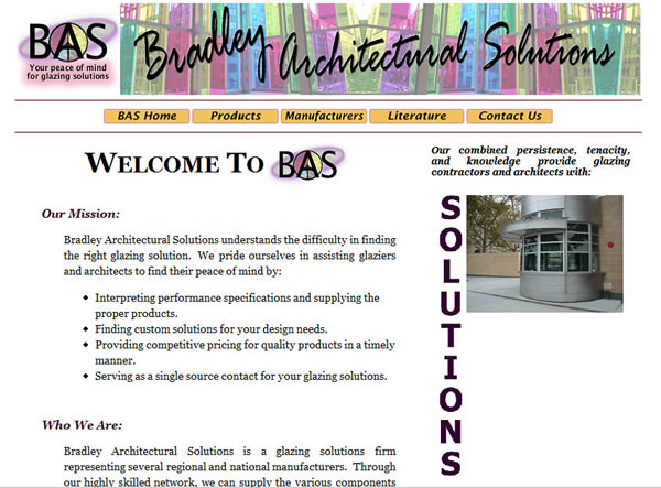Bradley Architectural Solutions Website v1.0