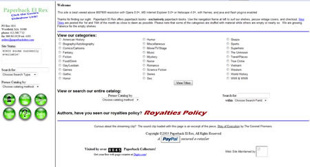 Paperback El Rex Website