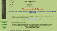 hansdynasty-website-screenshot