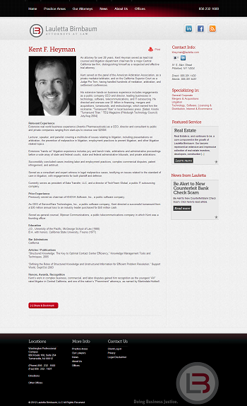 Profile Page Template (Screen)