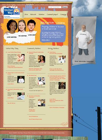 Website Prior to EE Rebuild