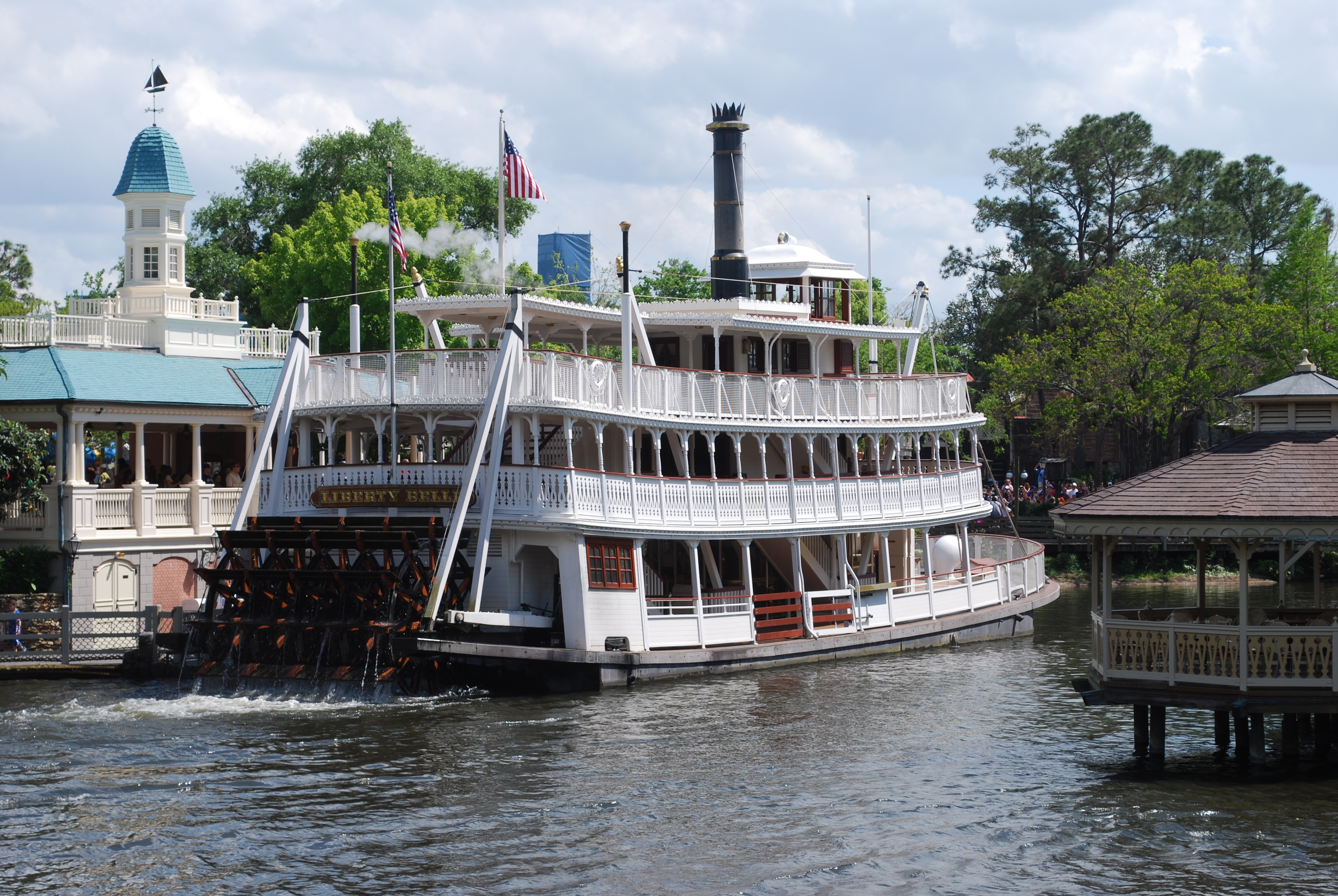 Liberty Bell Steamboat