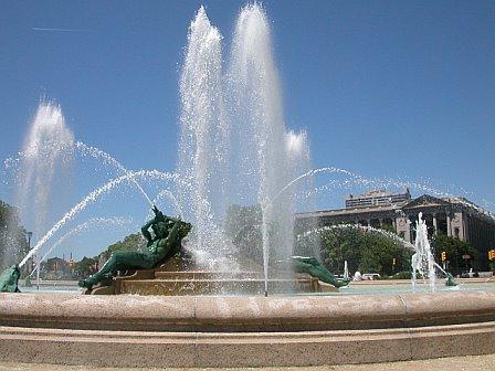 Logan Square Fountain, Philadelphia