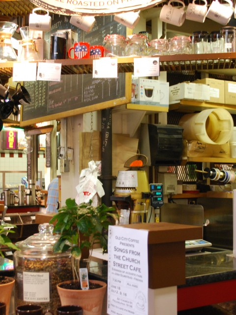 Old City Coffee, Reading Terminal Market, Philadelphia