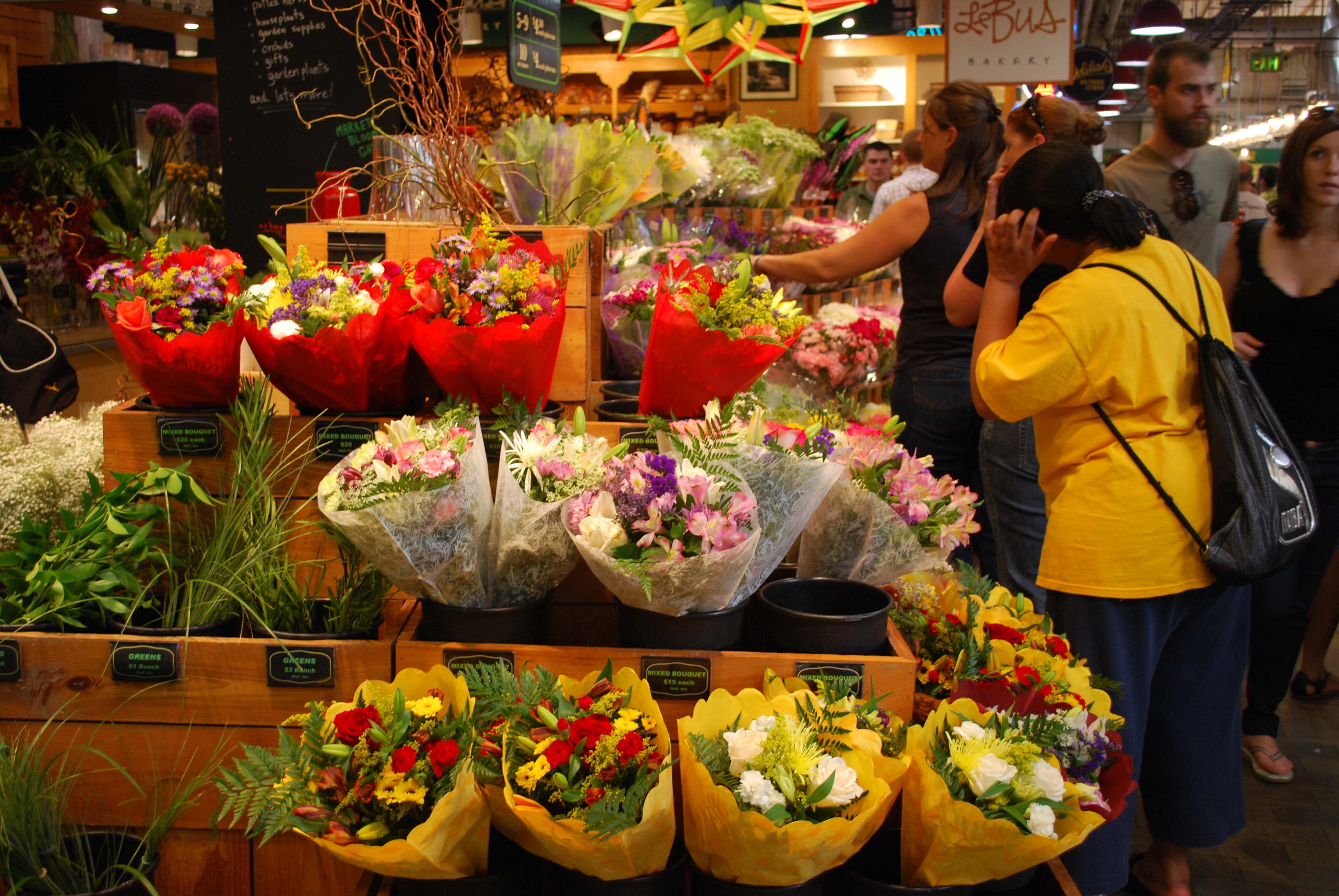 Bountiful Bouquets at Reading Terminal