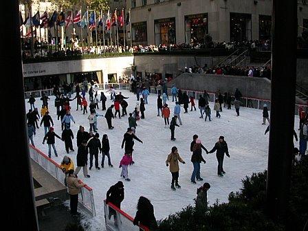 Ice Skating at 30 Rock