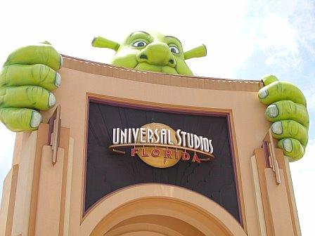 Shrek at Universal Studios Orlando