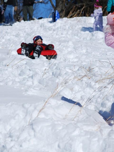 Snowtubing Fun
