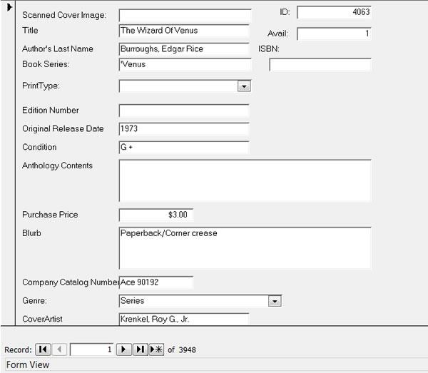 Paperback El Rex Custom Inventory Management Forms