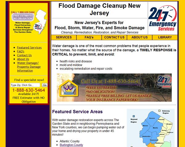 Flood Damage Cleanup - Multiple Sites